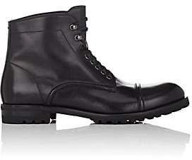 Harry's of London MEN'S GUY LEATHER BOOTS - BLACK SIZE 7 M 00505056544824