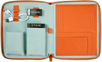 Stow STOW First Class Leather Tech Case