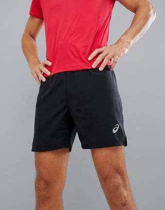 Asics Running 7 Inch Shorts In Black
