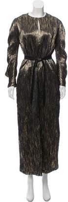 Zero Maria Cornejo Martin Luxe Crinkle Dress w/ Tags