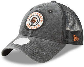 New Era Women's Cincinnati Bengals Perfect Patch 9TWENTY Snapback Cap