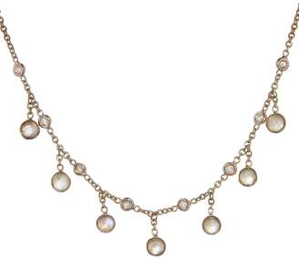 Jacquie Aiche Diamond And Moonstone Beaded Necklace