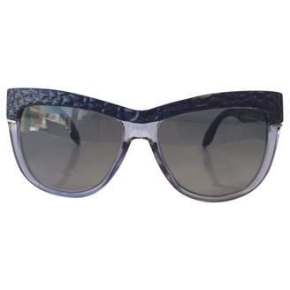 Roberto Cavalli Purple Plastic Sunglasses