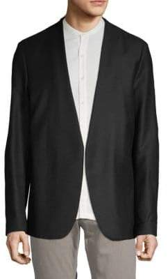 Maison Margiela Open-Front Wool Jacket