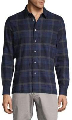 Slate & Stone Flannel Plaid Sport Shirt