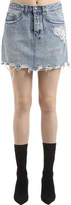 Ksubi MOSS SUPER FREAK デニムミニスカート