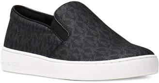Michael Kors Keaton Slip-On Logo Sneakers