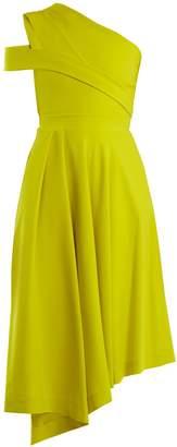 Preen by Thornton Bregazzi Danica one-shoulder A-line dress