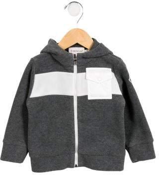 Moncler Boys' Fleece Hooded Jacket