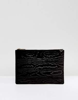 Whistles Woodcut Velvet Rivington Chain Bag