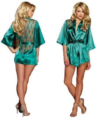 0014f5a600 Lisli Hot Sexy Women Silk Lingerie G String Set Sleepwear Night Robe  Babydoll Dress