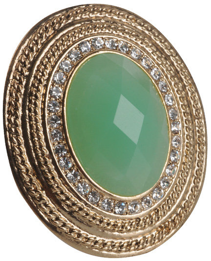 Forever 21 Jeweled Center Duchess Ring