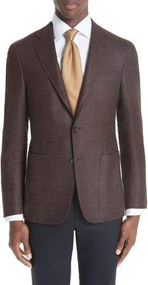Canali Kei Classic Fit Wool Sport Coat