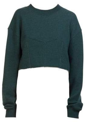 Cédric Charlier Cropped Sweatshirt