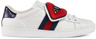 Ace sneaker with removable patches $695 thestylecure.com