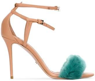 Elisabetta Franchi contrast open-toe sandals