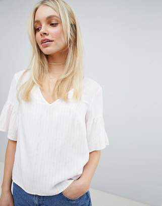 Jack Wills Bow Back Stripe Top