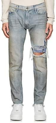 424 Men's Repair Straight Jeans