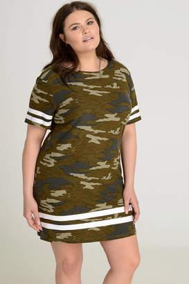 Ardene PLUS Super Soft Camo Mini Dress