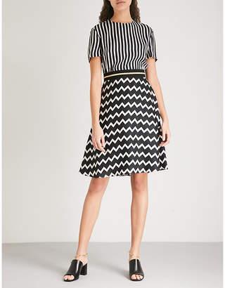 Stella McCartney Petra striped silk dress