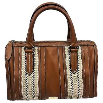 Burberry Camel Leather Handbag 60595e7886712