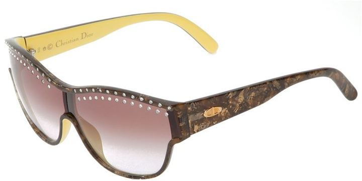 Christian Dior glass embellished sunglasses