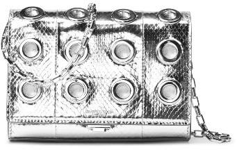 MICHAEL Michael KorsMichael Kors Small Yasmeen Clutch - Metallic