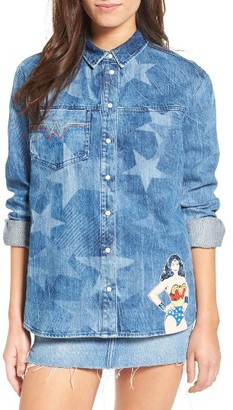 Women's Paul & Joe Sister Wonder Woman Denim Shirt