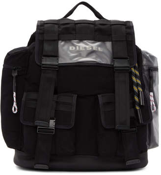 Diesel Black M-Cage Backpack