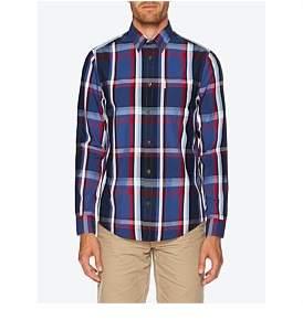 Ben Sherman Ls Large Check Mod Fit Shirt