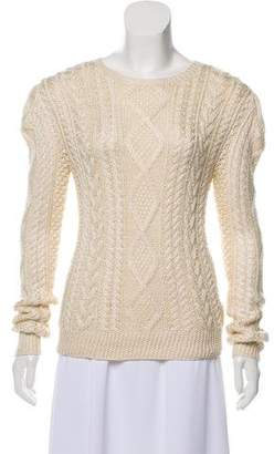 Ralph Lauren Silk & Cashmere-Blend Sweater