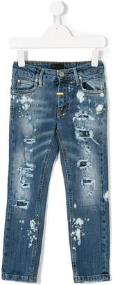 Frankie Morello Kids ripped jeans