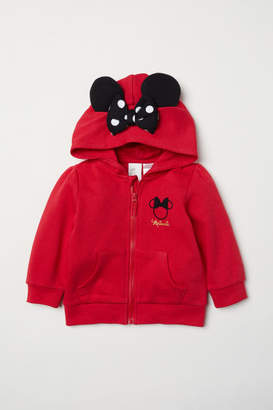 H&M Hooded Jacket with Ears - Red
