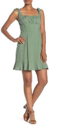 Dress Forum Polka Dot Tie Strap Mini Dress