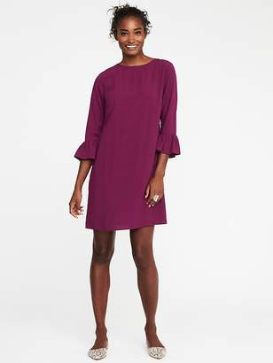 Ruffle-Sleeve Shift Dress for Women $34.99 thestylecure.com