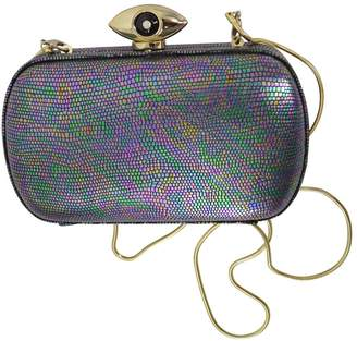 VIDA Leather Statement Clutch - Diane 37 by VIDA TzwYW