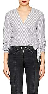 Rag & Bone Women's Prescot Striped Cotton-Linen Blouse - Stripe
