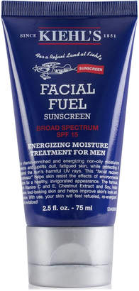 Kiehl's Kiehl Since 1851 Facial Fuel Energizing Moisture Treatment For Men Sunscreen Spf 15, 2.5-oz.