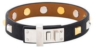 Hermes Mini Dog Studded Bracelet