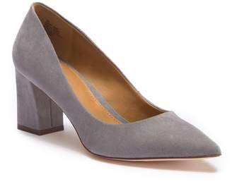 14th & Union Audry Block Heel Pump - Wide Width Available