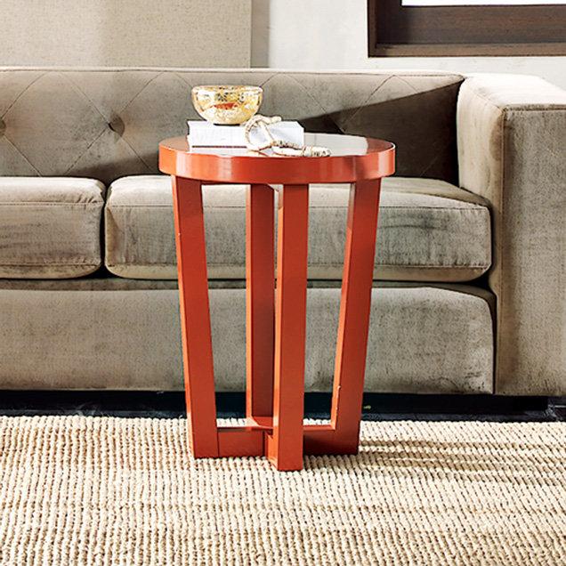 Angled-Leg Side Table