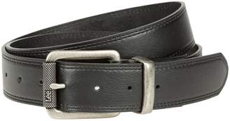 Lee Men's Flat-Edge Double-Stitched Stretch Belt