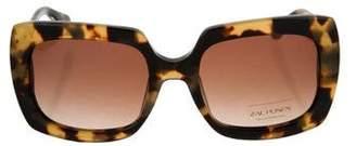 Zac Posen Mounia Oversize Sunglasses