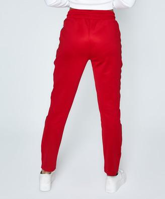Tommy Jeans Tracksuit Pant Samba Red