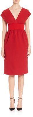 AgnonaAgnona Cap-Sleeve Boucle Dress