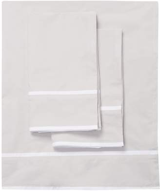 Saks Fifth Avenue Luxe Double Stripe Border Sheet Set