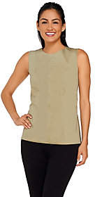G.I.L.I. got it love it G.I.L.I. Sleeveless Peplum Back Top withSeam Detail