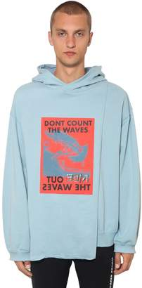 Ambush Waves Cape Cotton Sweatshirt Hoodie