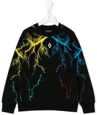 Marcelo Burlon County of Milan Kids thunder-print sweatshirt