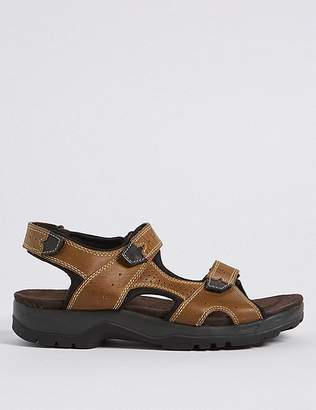 Marks and Spencer Big & Tall Leather Riptape Sandals